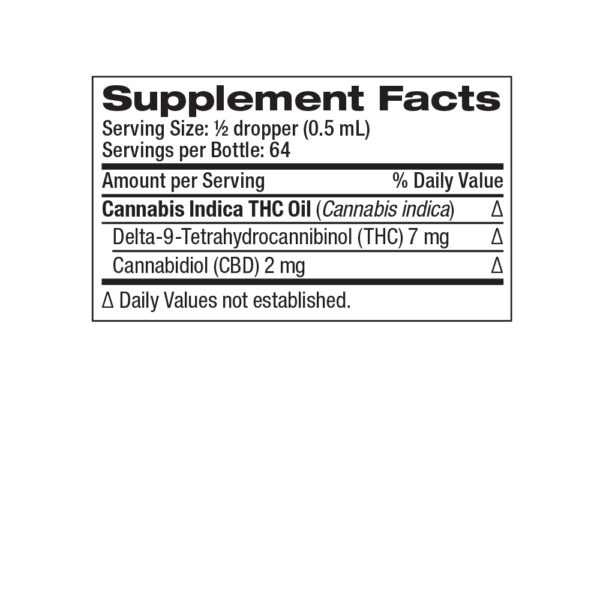 CHH-INDICA_THC-448mg-32mL_Supplement